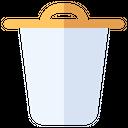 Trash Recycling Bin Icon