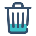 Trash Recycle Remove Icon