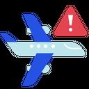 Travel Avoid Coronavirus Restrictions Icon