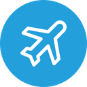 Travel Plane Fly Icon
