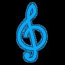 Clef Key Music Icon