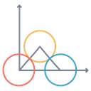 Triangle Circle Line Icon