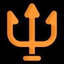 Religion Hinduism Trishul Icon