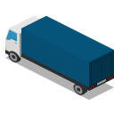 Truck Back Icon