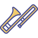 Brass Cornet Marching Band Icon