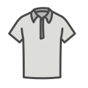 Tshirt Collared Shirt Icon