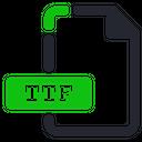Ttf File Font Icon