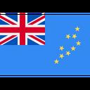 Tubalu World Flag Location Icon