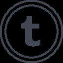 Tumblr Social Media Icon
