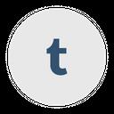 Tumblr Social Media Logo Icon
