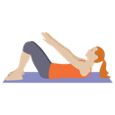 Tummy Exercise Icon