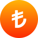 Turkish Lire Cryptocurrency Currency Icon