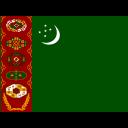 Turkmenistan Flag Country Icon