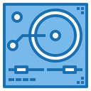 Turntable Music Record Icon