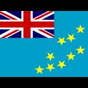 Tuvalu Flag Country Icon