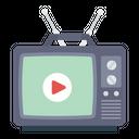 Tv Television Broadcast Icon