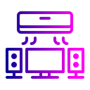 Tv Ac Appliances Icon
