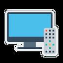 Tv Television Remote Icon