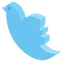 Twitter Logo Icon Of Glyph Style Available In Svg Png Eps Ai Icon Fonts