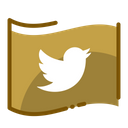 Twitter Social Media Social Network Icon