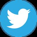 Twitter Circle Social Media Logo Icon