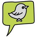 Twitter message Icon