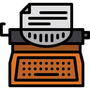 Typewriter Icon