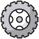 Tyre Car Part Off Road Icon