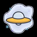 Ufo Space Astronomy Icon
