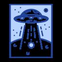 Ufo Alien Plant Icon