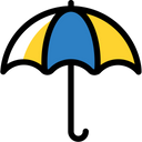 Umbrella Sunshade Sun Protection Icon