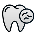Unhealthy teeth Icon
