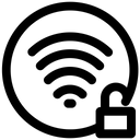 Unlock Wifi Icon