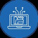 Unzip Data File Icon