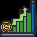 Up Trend Money Icon