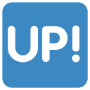 Up Button Mark Icon