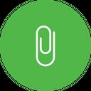 Upin Clip Attach Icon
