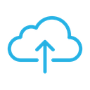 Upload Cloud Up Icon