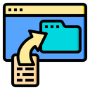 Upload Document Email Icon