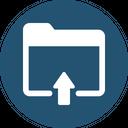 Files Share Upload Folder Icon