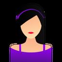 Girl Female Employee Icon