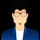 Man Boy Character Icon