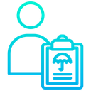User Document Health Care Icon