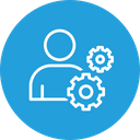 User Employee Management Icon