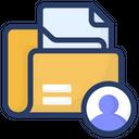 File Folder Document Folder File Pocket Icon