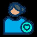 User Like Like Profile Female Profile Icon