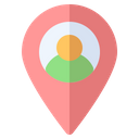User Location Map Icon