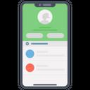 Mobile App User Profile User App Icon