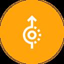 Uturn Straight Direction Icon