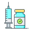 Antivirus Injection Syringe Icon